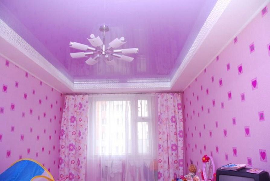 фотообои на потолок с цветами: