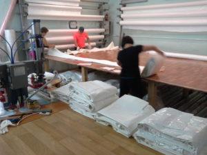 Технология изготовления натяжных потолков