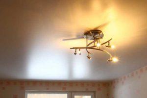 Потолок из сатина