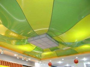 Разные цвета натяжного потолка