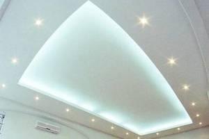 пвх или тканевый натяжной потолок