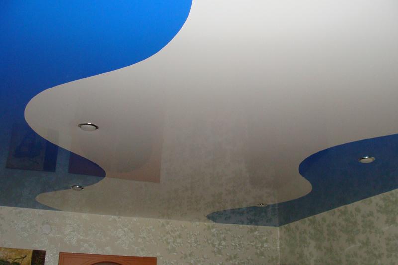 натяжные шовные потолки