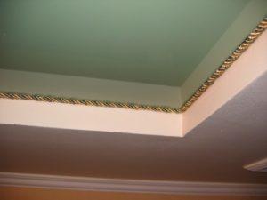 Вставка декоративная для натяжных потолков — делаем сами!