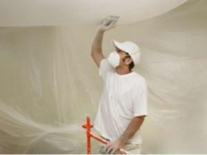 Подготовка потолка под установку натяжных потолков