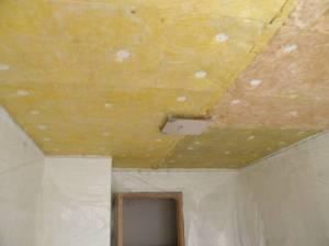 натяжные потолки с шумоизоляцией