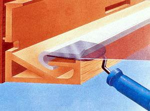 гарпун для натяжного потолка