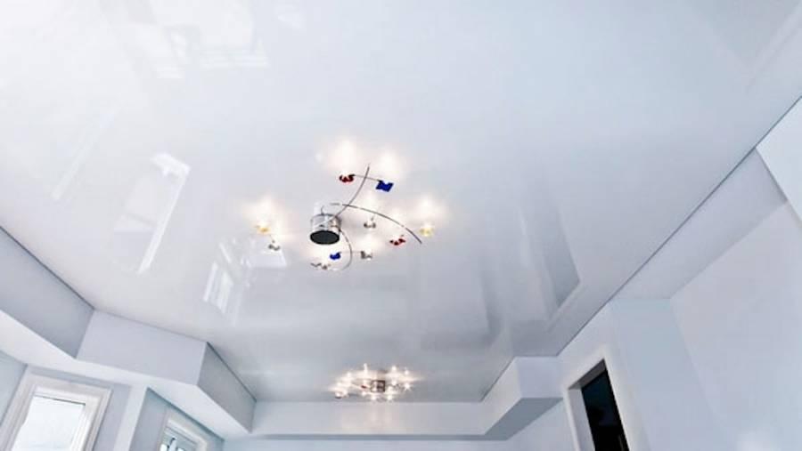 красивые натяжные потолки