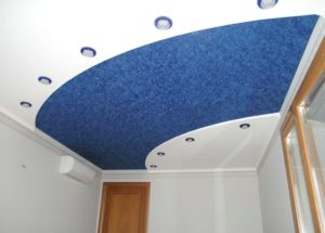фактурные натяжные потолки