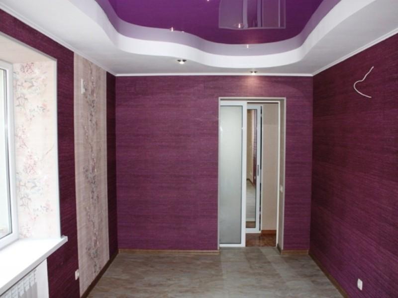 фиолетовый натяжной потолокфиолетовый натяжной потолок
