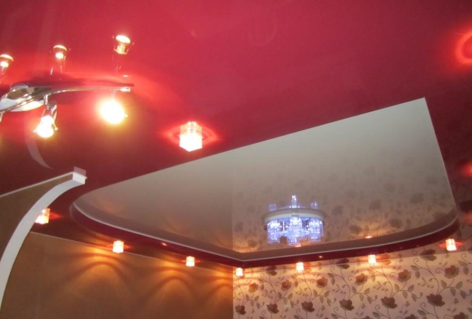 лучшие натяжные потолки