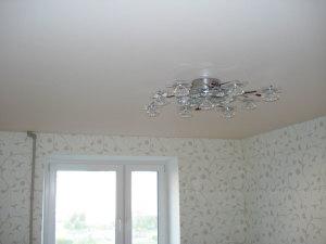 натяжной потолок без нагрева отзывы